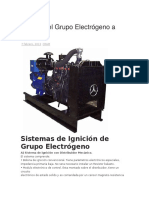 Manual Del Grupo Electrógeno a Gas