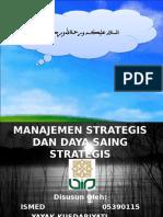 Manajemen Strategis Dan Daya Saing Strategis