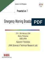 EWBS Warning System
