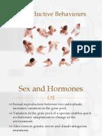 Lecture 8 Reproductive Behaviours