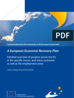 Communication from the Commission to the European Council 2009 - A European Economic Recovery Plan