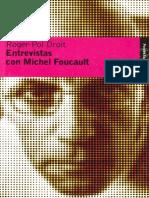 Entrevista Foucault