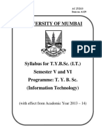 Tybsc Information Technology Syllabus