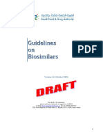 Guidelines on Bio Similar s