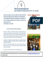 Stopsley High School CERN 2016 Appeal Fund Flyer