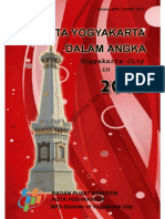 Kota Yogyakarta Dalam Angka 2015