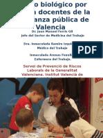 Riesgo Biológico en Docentes de La Enseñanza Pública Final 97-2003