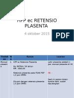 Hpp Ec Retensio Plasenta Lapjag Dr Ariel 4 Okt 2015