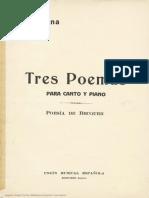 3 poemas- Joaquín Turina