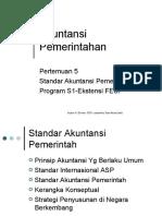 STANDAR AKUNTANSI PEMERINTAH INDONESIA