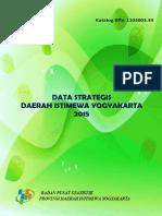 Data Strategis Daerah Istimewa Yogyakarta 2015