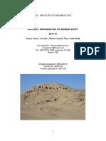ARCL2012_AncientEgypt