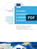 Economic and Monetary Union and the Euro Es