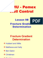 9B. Fracture Gradient Determination