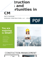 Roles and Opportunities in Construction