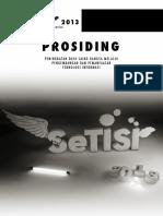 Prosiding SeTISI2013