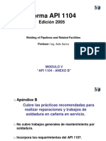 Modulo 5 API 1104 Anexo b