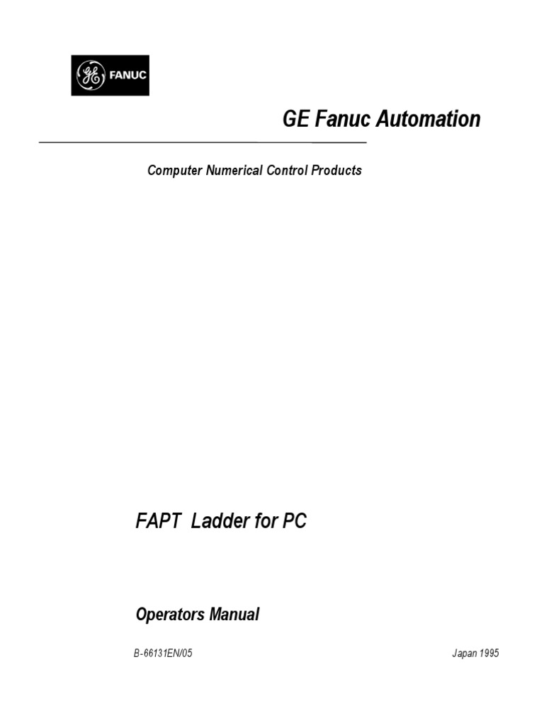 FAPT Ladder for PC-Operator Manual | Computer File