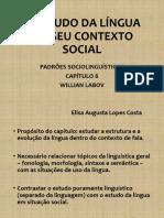 Apres. o Estudo Da Língua Em Seu Contexto Social