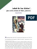 """""""La ciudad de los hielos"""". Una novela olvidada del Mito Antártico"""