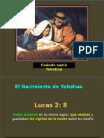 CAPITULO 15 Cuándo Nació Yahshua