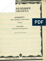 karłowicz violin concerto - violin part