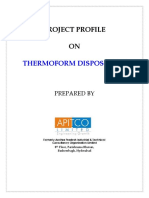 Thermoform Disposables