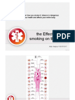 The Effects of Smoking on the Body