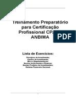 Lista de Exercícios (C. Gabarito)