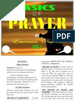BASICS OF PRAYER