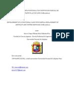 Elaboracion de Una Torta Funcional Con Sustitucion Parcial de Extracto y Particulas de Café