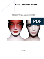 Proiect Cosmetica si frumusete