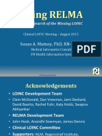 2015 08 11 - Clinical LOINC and RELMA Workshop