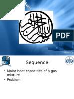 Molar heat capacity