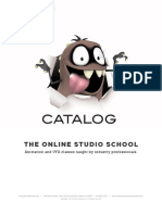 Animation Mentor Catalog
