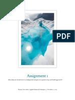 assignment 1 docx