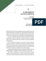Ensayo Paolo Fabbri el giro semiotico