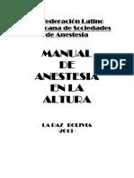 Manual de Anestesia en La Altura - Bolivia 2013(2)