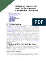 Sistematizar El Control Del Personal en La Empresa Nph Peru