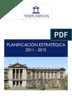 Poder Judicial Chileno, Plan de Estrategia