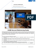 CASE Guide to Harvard Referencing 2015 July Edited