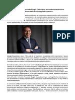 Giorgio Fraccastoro, ecco il Curriculum dell'Avvocato Cassazionista