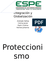 Proteccionismo vs Comercio Internacional