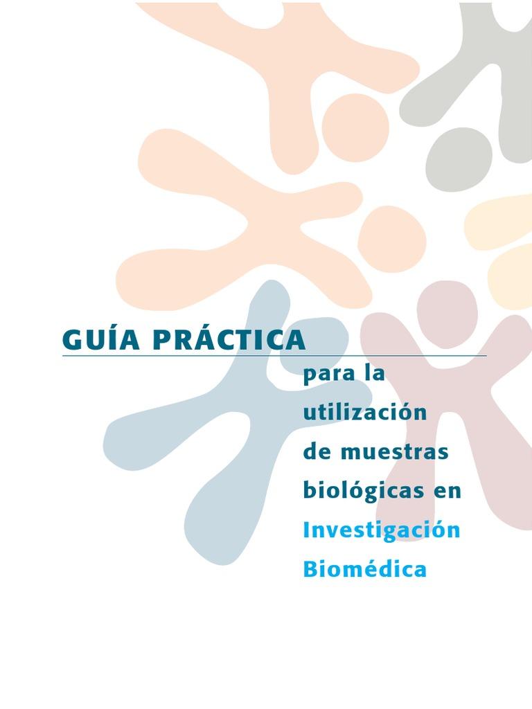 Guía Para La Utilización de Muestras Biológicas