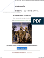 As 12 Noites Santas – 11ª Noite Santa (Bva)