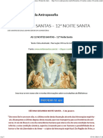 As 12 Noites Santas – 12ª Noite Santa (Bva)