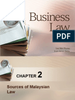 BL Chapter 2-Sources of Malaysian Law(3)