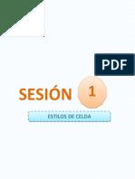 Sesion1 Estilos de Celda 6to Primaria