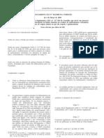 Residuos de Medicamentos - Legislacao Europeia - 2008/03 - Reg nº 203 - QUALI.PT