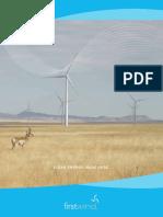 First Wind Corporate Brochure